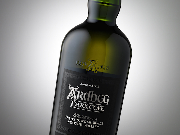 019 Ardbeg Dark Cove bottle detail_Grey