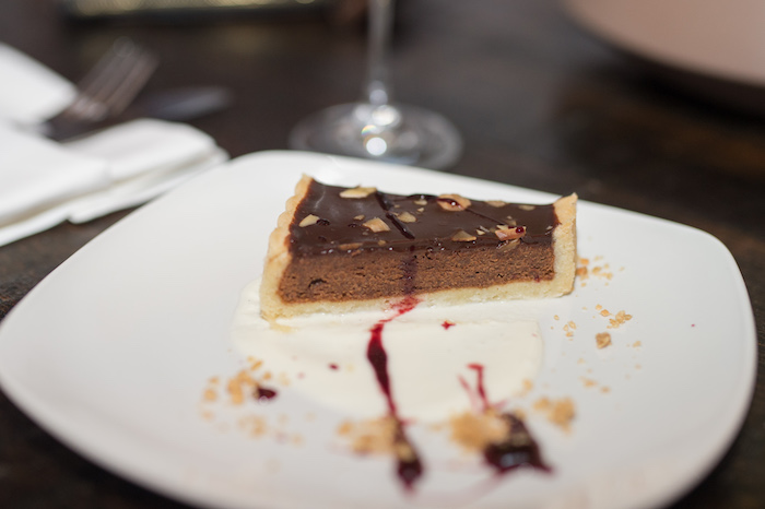 Chocolate Almond Cake with Sour Cherry and Vanilla2